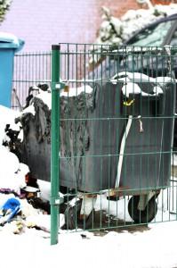 Neue Mülltonne